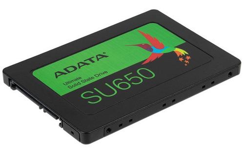unidad de estado sólido adata su650 de 480 gb, 2.5 sata