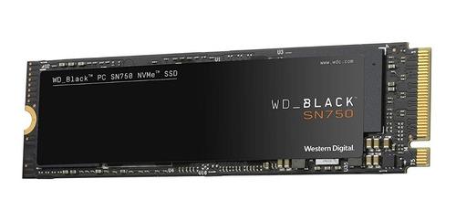 unidad de estado solido m.2 wd black sn750 500gb nvme 2280