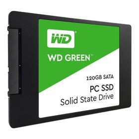 Unidad De Estado Sólido Western Digital Green De 120 Gb