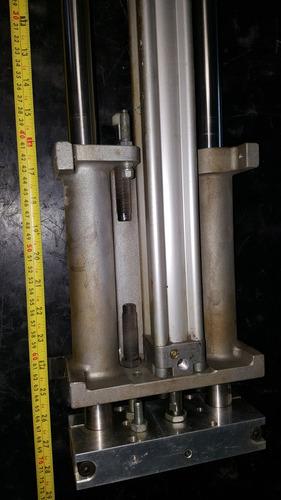 unidad de guia con cilindro festo power industrial