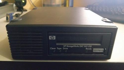 unidad de respaldo externa hp storageworks dat 160 usb