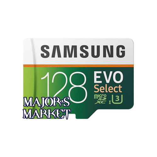 unidad flash microsd samsung evo select 128gb uhs-i u3