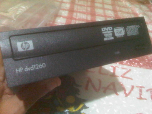 unidad o lectora,quemadora cd/dvd hp (pc,computadora)