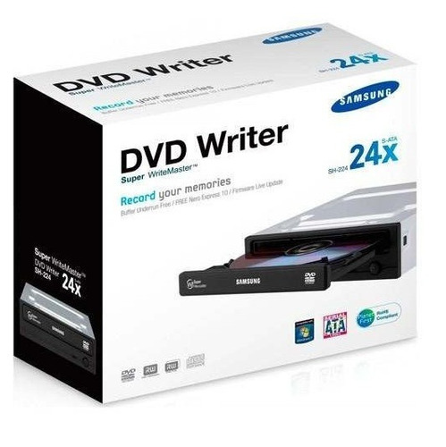 unidad optica interna quemadora dvd rw sata doble capa layer