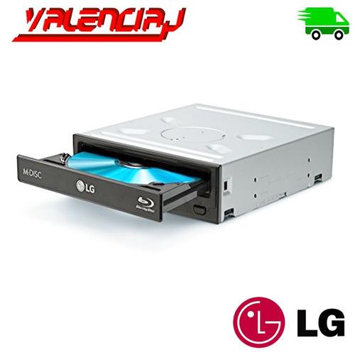 unidad optica lg interna 5.25  sata blu ray 14x bdxl br-dvd