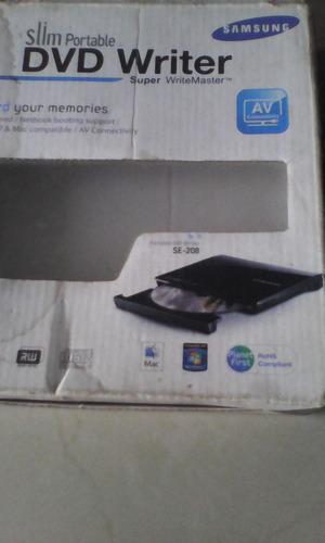 unidad portatil de cd dvd quemador samsung