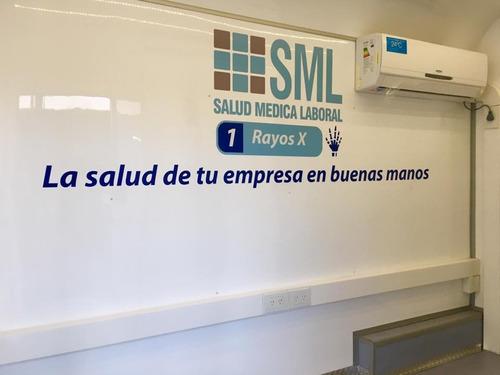 unidad sanitaria móvil, homologada patentable