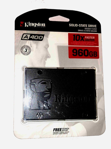 unidad ssd 960 gb kingston sa400940 chcdmx
