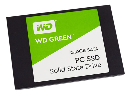 unidad ssd western digital green 240gb lectura 540mb/s