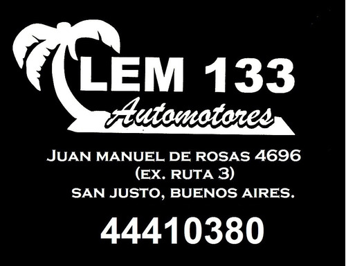 unidad vendida!! lem 133 automotores!!!!