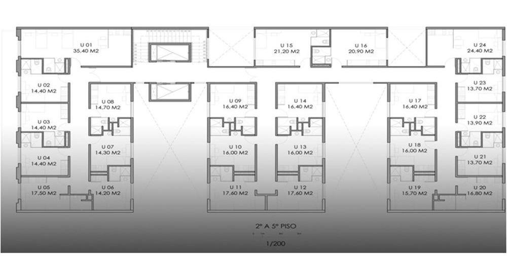 unidaddes de coliving c/ renta, coworking y hostel
