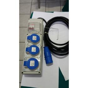 Unidade Combinada  (filtro De Linha)steck 16a Com Disjuntor