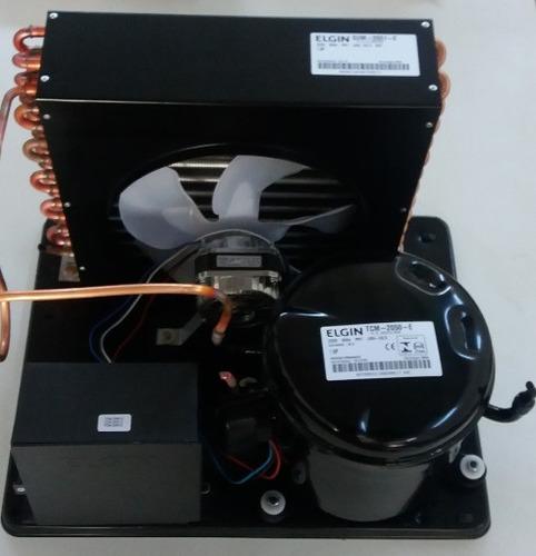 unidade condensadora elgin 1hp r22 220v sum-2051-eme