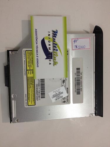 unidade óptica dvd hp pavilion  tx1000,