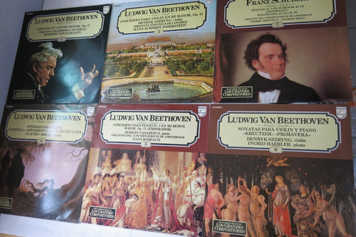 unidades clasica coleccion grandes compositores philips lps