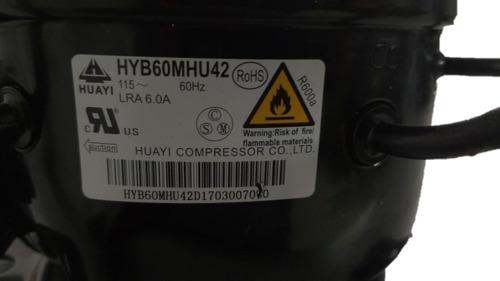 unidades compresoras neveras 1/5hp 1/6 hp, gas r600a