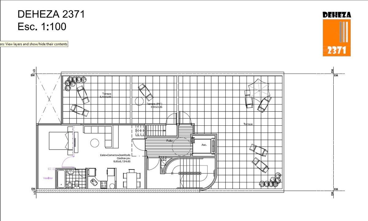 unidades de 1, 2 y 3 ambientes a estrenar a pasos de cabildo