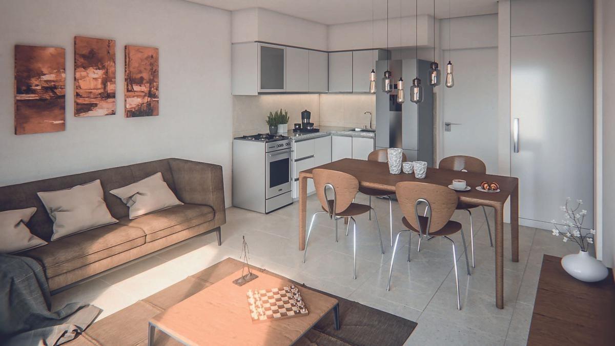 unidades de 1 dormitorio y monoambientes  en abasto