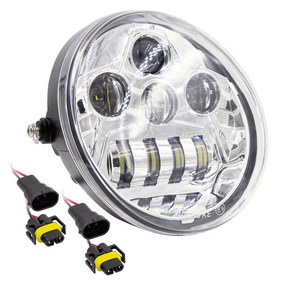 "4Pcs 4/""x6/"" Rectangle Led Headlight Hi-Lo Seal Headlamp DRL Cree Light H4656//4651"