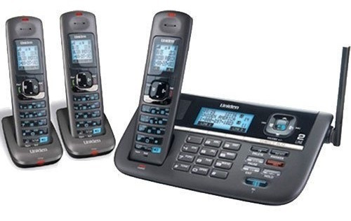 uniden dect4086  2 lineas  1.9ghz telefono dect 6.0 base ina