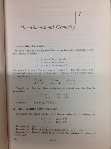 unifield. calculus and analityc geometry
