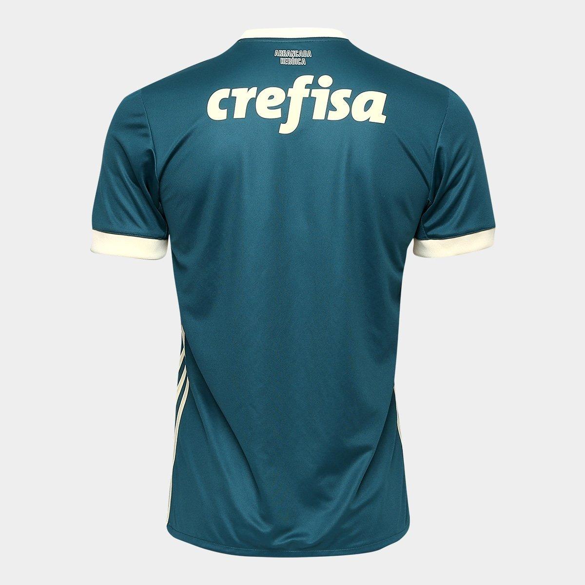 226f5c80f5 uniforme adulto camisa e shorts palmeiras oficial adidas. Carregando zoom.