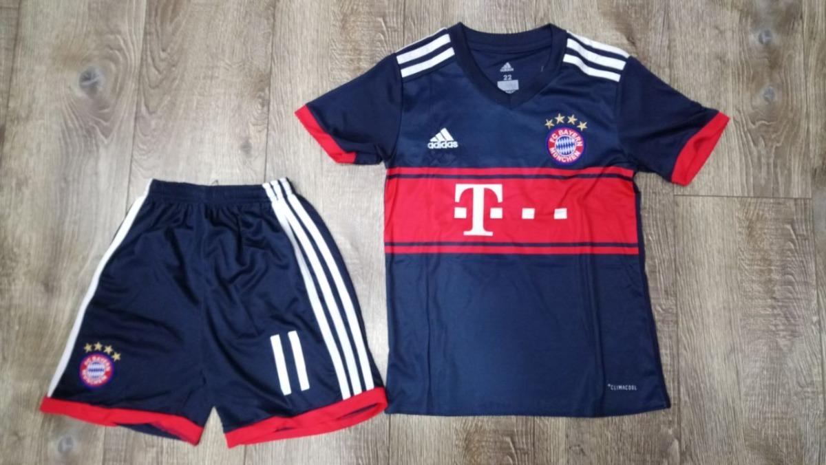 Uniforme Alterno Bayern Munich Niño James 11 -   90.000 en Mercado Libre 120e82cbfe377