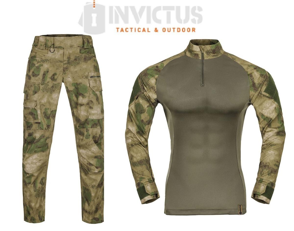 a6178fdd8 uniforme atacs fg farda invictus calça e combat shirt. Carregando zoom.