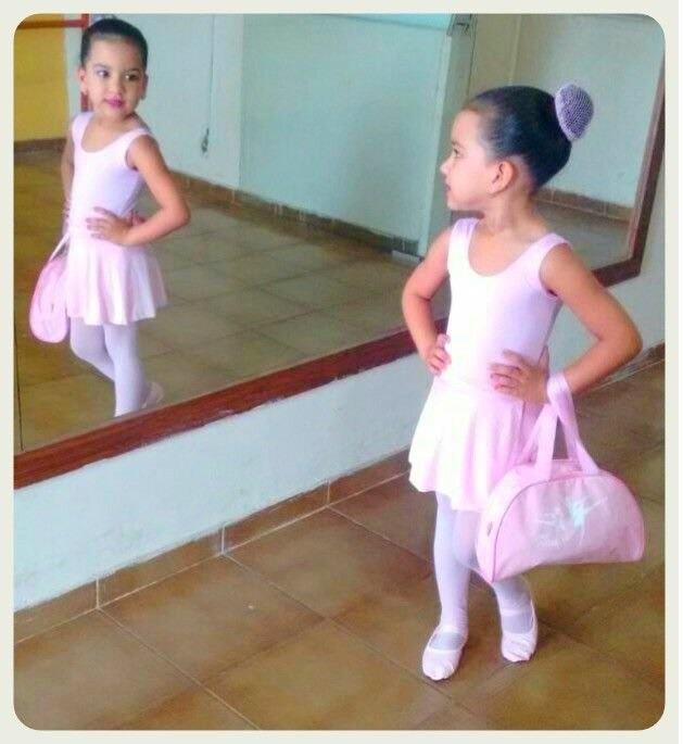 4f9aeaaa94 Uniforme Aula Infantil Roupa Ballet Bailarina Balé Bolsa - R  119