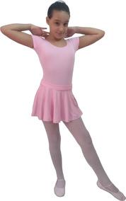 e75e3eed39 Kit Uniforme De Ballet Rosa - Camisetas e Blusas no Mercado Livre Brasil