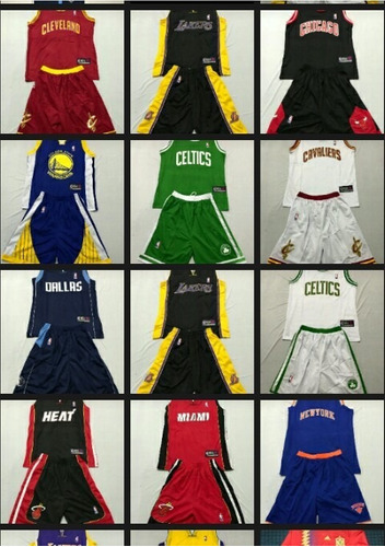 uniforme baloncesto nba 2017