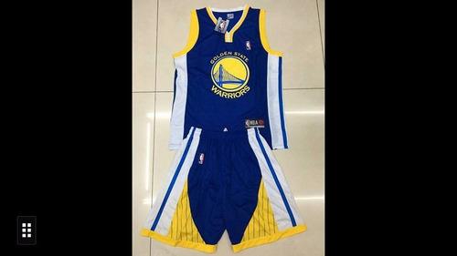 uniforme baloncesto nba golden warriors finalista nba 2017