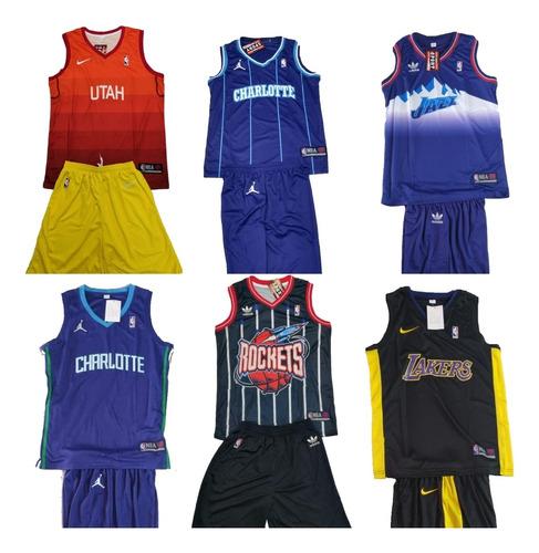 uniforme baloncesto nba para adulto