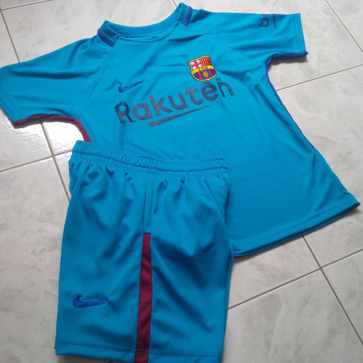 Uniforme barcelona azul celeste visitante messi cargando zoom jpg 1200x1200  Uniforme del barcelona el azul 090ae276c6c