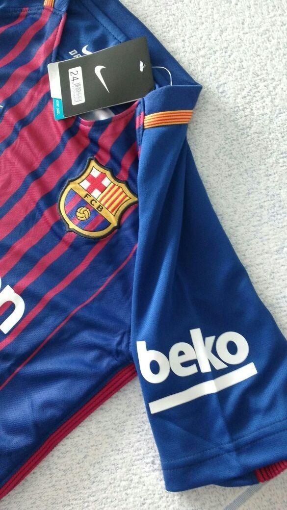 uniforme barcelona 2017 infantil. Carregando zoom. 35015b18227