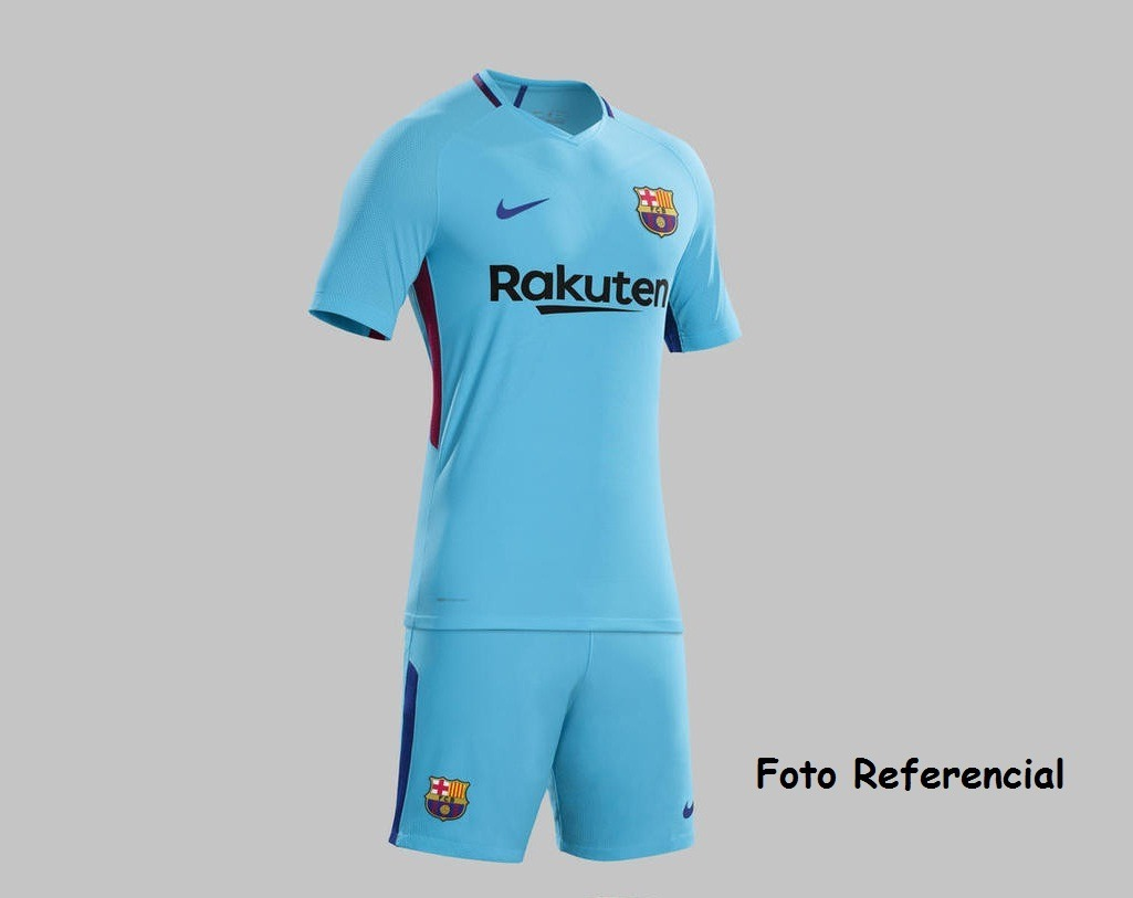 5d4349c3f8253 uniforme barcelona alternativo 2017- 2018 messi solo niños. Cargando zoom.