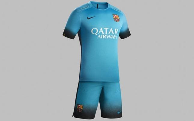 Uniforme Barcelona Fc Azul Celeste 2015-2016 Estampado Messi - Bs. 200 9e8fbfe1924