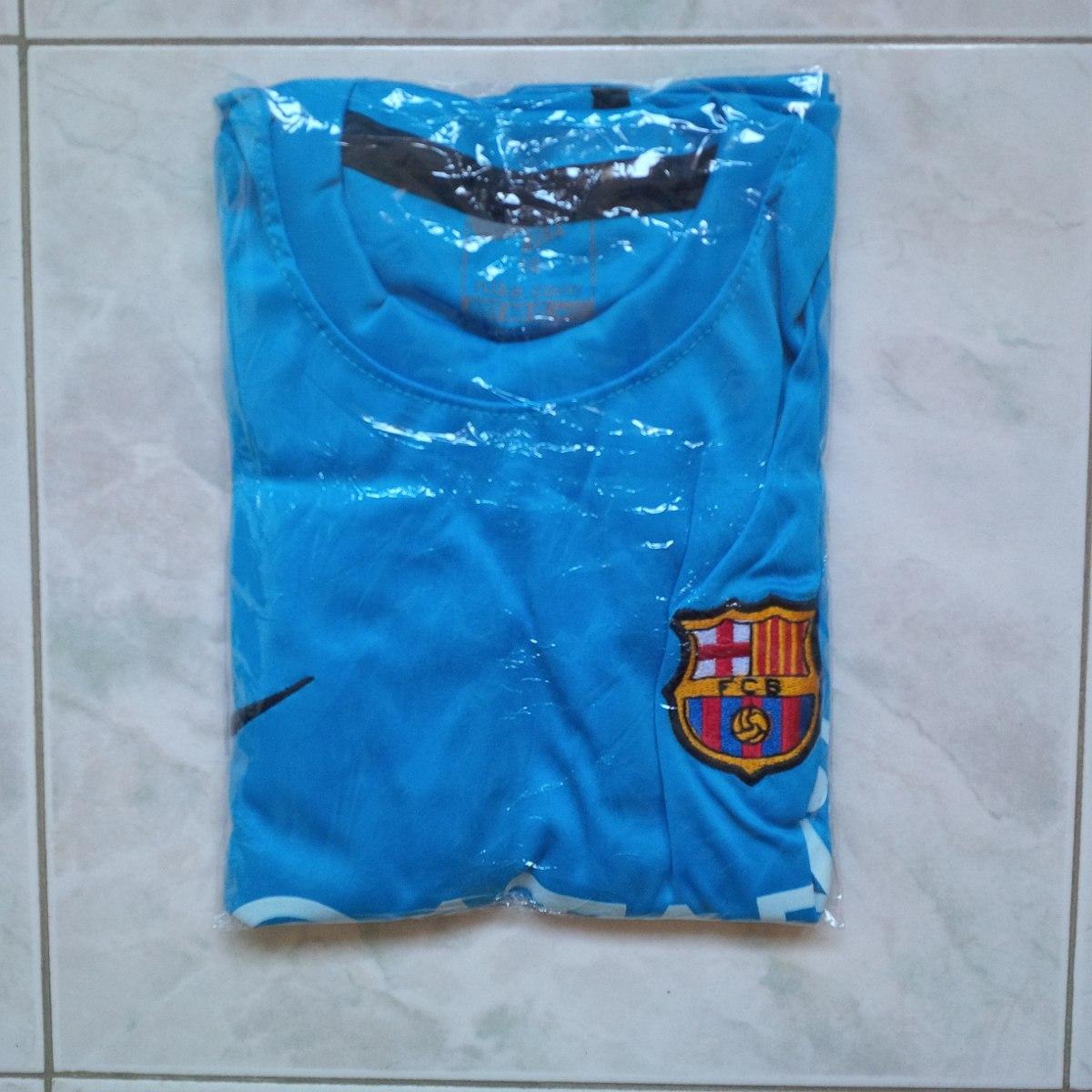 uniforme barcelona fc azul celeste 2016 estampado messi niño. Cargando zoom. 7411869d4a8