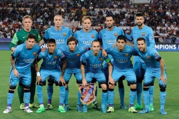 Uniforme Barcelona Fc Azul Celeste 2016 Estampado Messi Niño - Bs ... 6c882011a64
