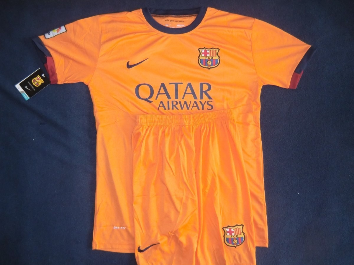 uniforme barcelona local visitante 2015 adultos. Cargando zoom. b4ecbb29ed9