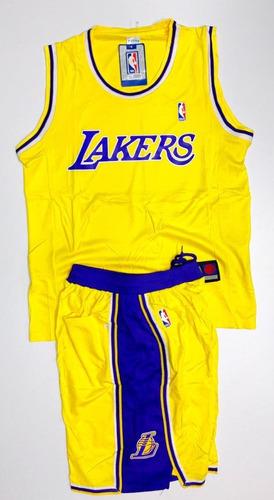 uniforme basketball baloncesto nba angeles lakers adulto