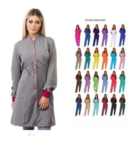 uniforme bata médicos odontologico enfermera oferta