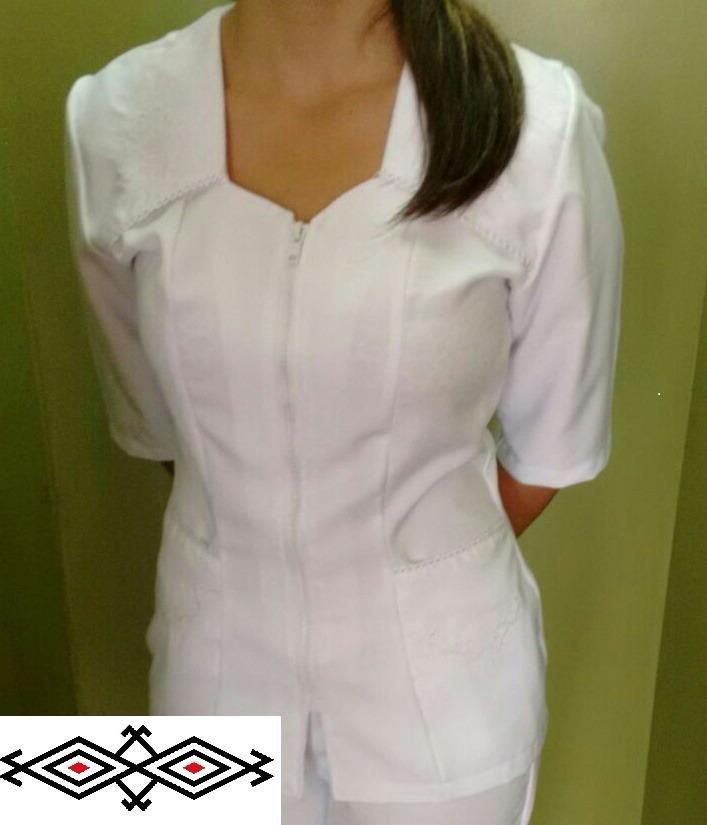9b9be760a3 uniforme blanco conjunto enfermería para dama enfermera. Cargando zoom.