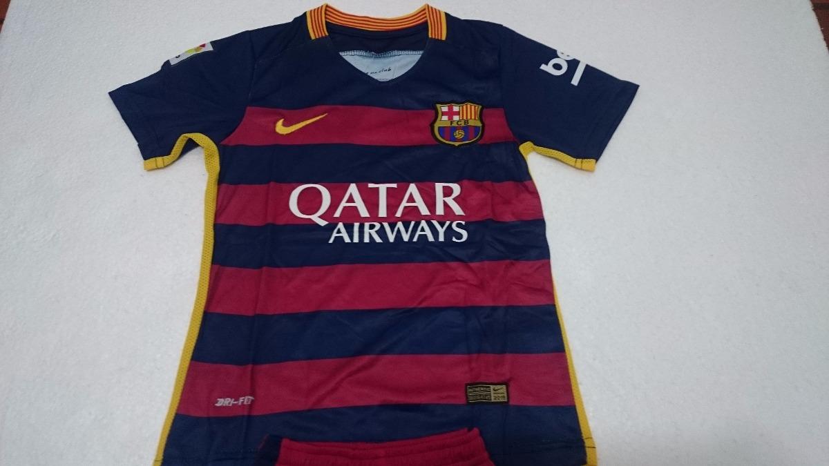 Uniforme Camiseta Barcelona Niño 2015   2016 Original -   95.000 en ... ee53fade8ef