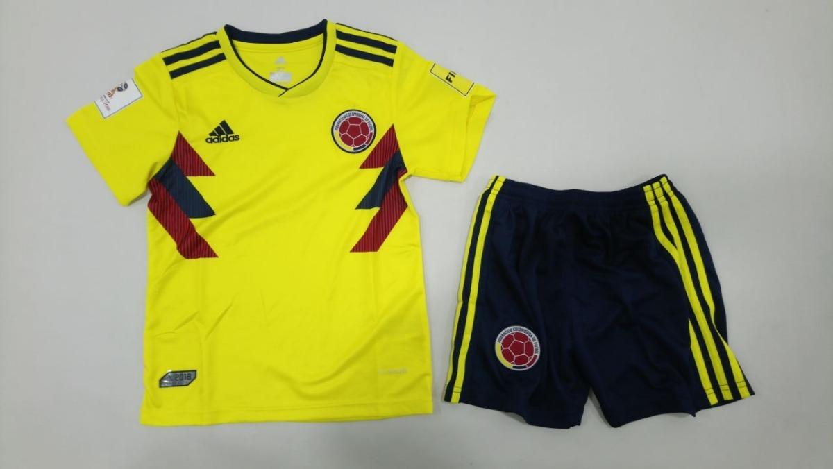 45eef9b8bb016 uniforme camiseta selección colombia niño 2018 mundial rusia. Cargando zoom.