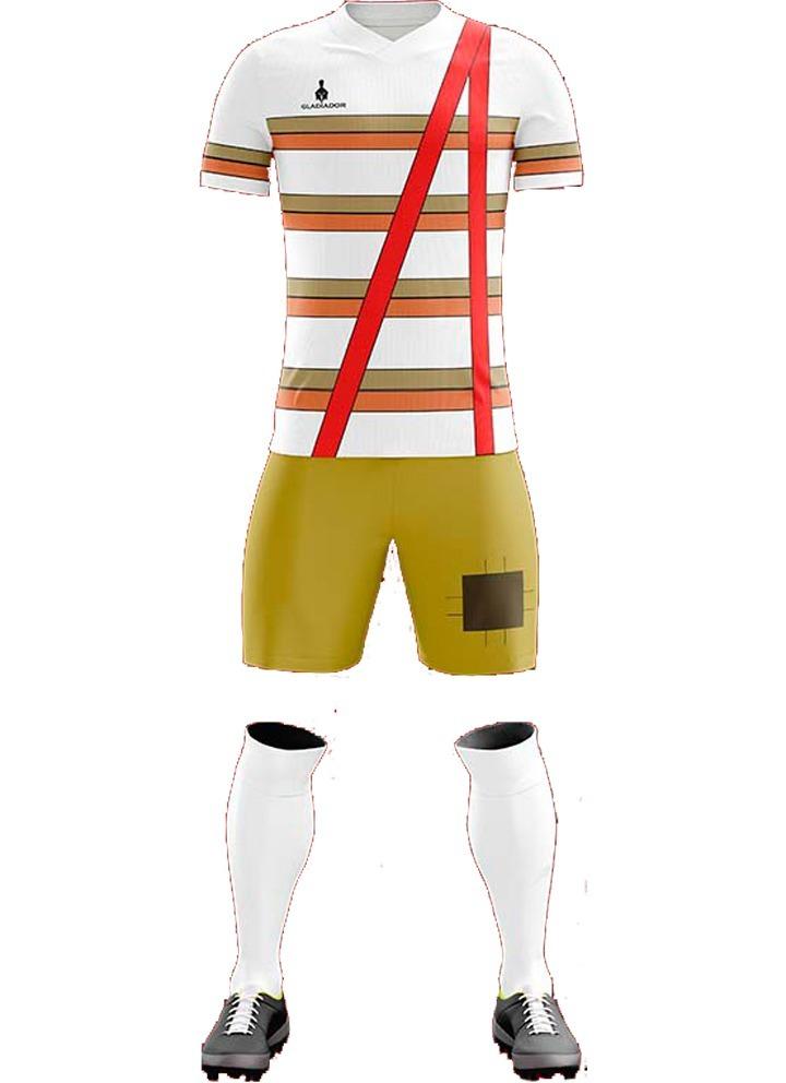 e8489561279c1 Uniforme Chavo Del 8 Fútbol Personalizado -   600.00 en Mercado Libre
