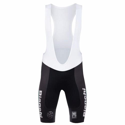uniforme ciclismo bianchi 2017 jersey + short bib, bici ruta