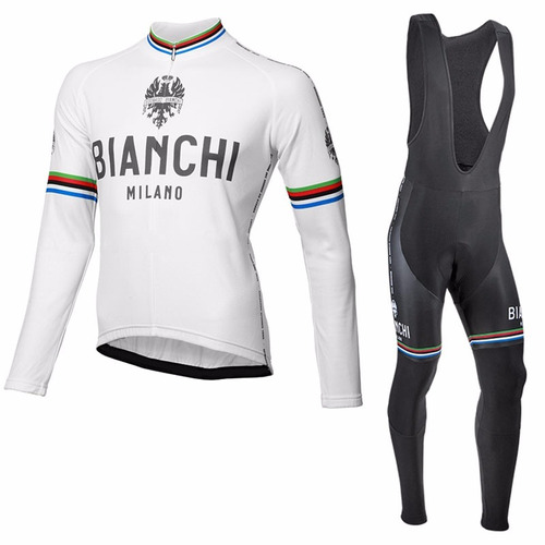 uniforme ciclismo bianchi milano largo jersey pants bib bici