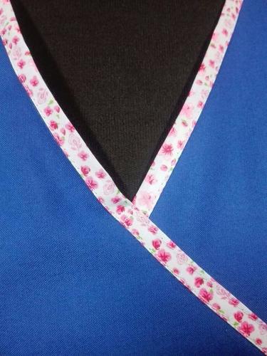 uniforme clínico médico mujer azul rey nuevo xl