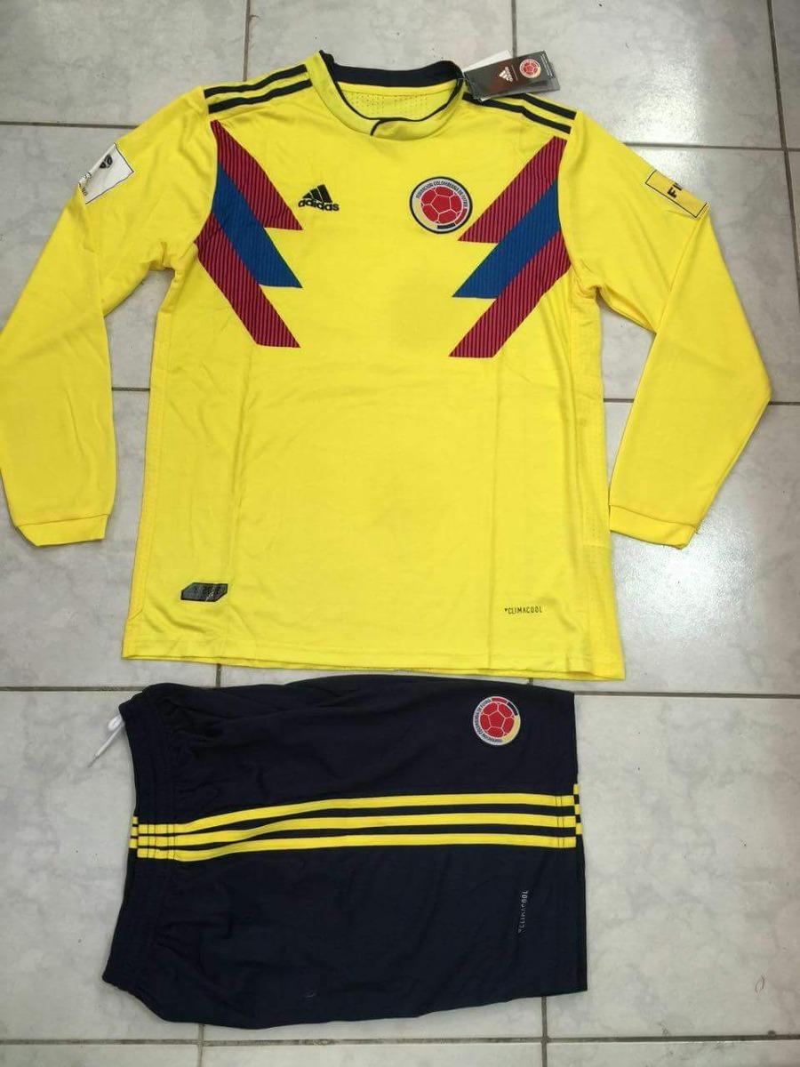 uniforme colombia mundial rusia 2018 390 00 en mercado